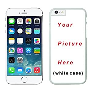 DIY Silicone Iphone 6 Case 4.7 Inches with Your Photos Pictures Images Designs Personalized Iphone 6 TPU Covers (White)