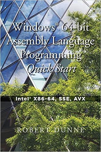 Windows 64-bit Assembly Language Programming Quick Start