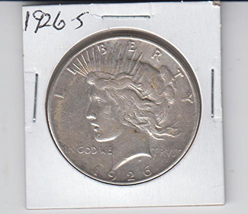 1926 S Peace Silver Dollar- Circulated- $1 Extremely Fine