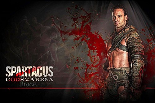 Armor Long Hair Gladiator Gods Of The Arena Sinewy Spartacus Tv Movie Film Poster Fabric Silk Poster Print 31687