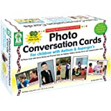 Key Education Photo Conversation Cards for Children with Autism and Asperger's
