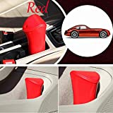 umbrella container - Interior Accessories Car Storage Supplies - Multifunction Car Garbage Cans Umbrella Storage Container Bucket Box Rubish Trash Bin - Red - 1 X Car Garbage Cans