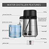 Water Distiller, Stainless Steel Distilling Pure