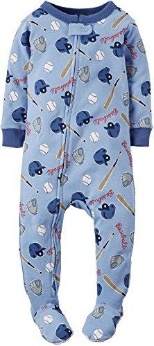 d1d58d8d7f90 Amazon.com   Carters Baby Boys Baseball Sleep   Play 12 Month Blue ...