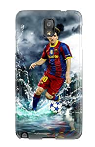 New Style Tpu Note 3 Protective Case Cover/ Galaxy Case - Lionel Messi Poster