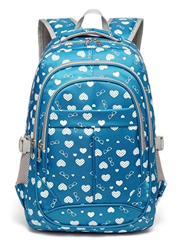 (Sweetheart Backpack for Girls Children Kids Schoolbag (Blue))