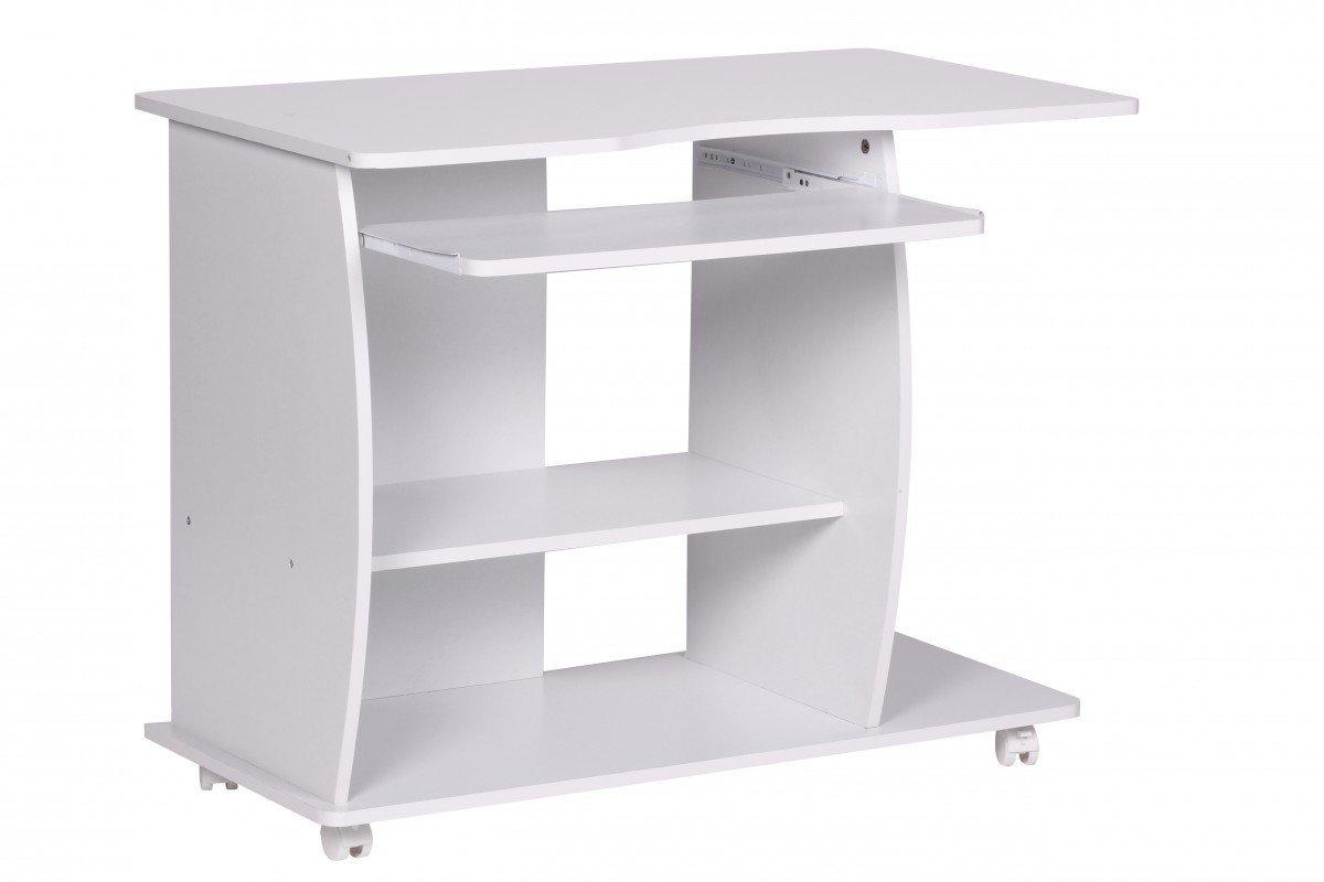 Rollen fr tisch latest cheap buche rollbar flexo with auf for Schreibtisch schwenkbare tischplatte