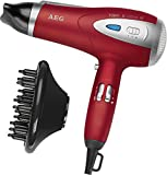 AEG Professional Hairdryer With Eco Save and Ion Technology Red