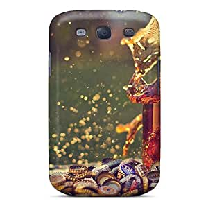 Excellent Design Spilled Beer Case Cover For Galaxy S3