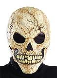 Adult Skeleton Human Skull Scary Horror Halloween Mask Adult Standard