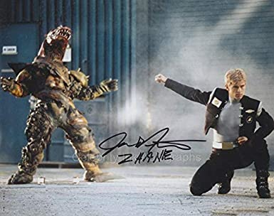 justin nimmo as zhane the silver space ranger power rangers in space genuine autograph at amazon s entertainment collectibles store justin nimmo as zhane the silver space ranger power rangers in space genuine autograph