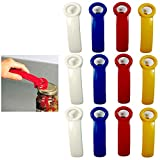 12 Jar Pop Opener Jarpop Jarkey Vacuum Rim Lid Lifter Top Stocking Stuffer Gift