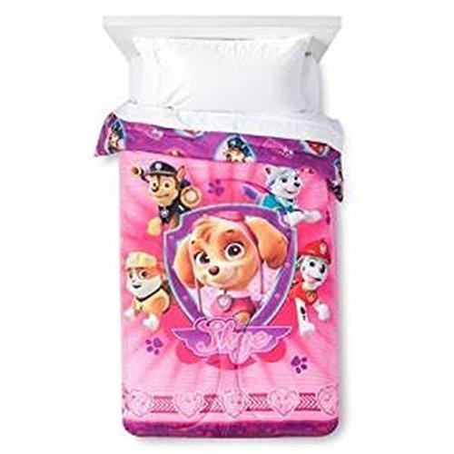 Nick Jr Nickelodeon PAW Patrol Puptacular Comforter, Twin]()
