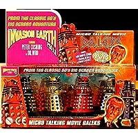 Micro Talking Daleks Invasion Earth 4 Pack Product Enterprise