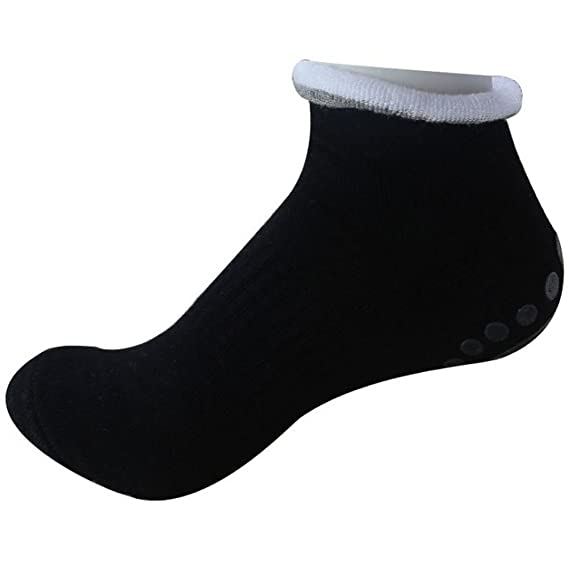Amazon.com : WINOMO 4 Pairs of Yoga Socks Womens Non Slip Anti-Skid Pilate Grip Socks : Sports & Outdoors