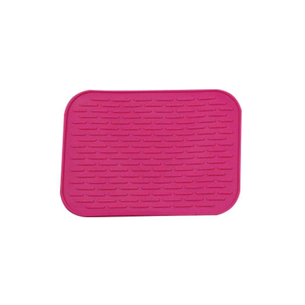 SUJING Silicone Pot Holder Trivet Mat Multi-Purpose Hot Pads Heat Resistant Hot Pads Coaster Cushion Placemat Pot Holder (Hot Pink)