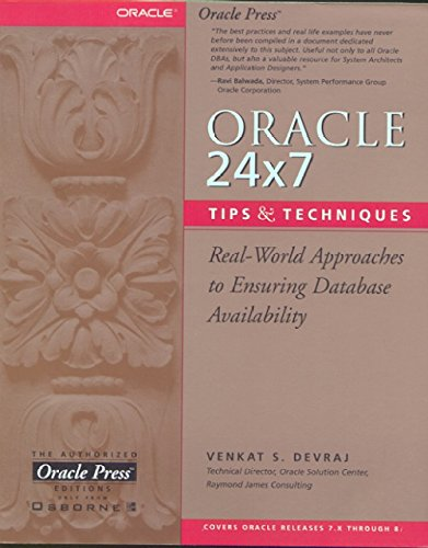 Oracle 24x7 Tips and Techniques (Oracle Press)