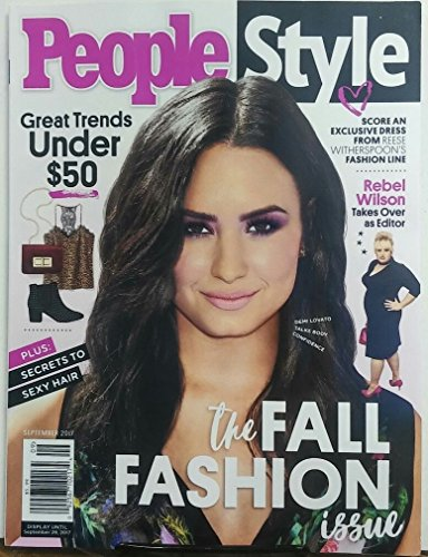People Style September 2017 Demi Lovato The Fall Fashion - Demi Lovato Style