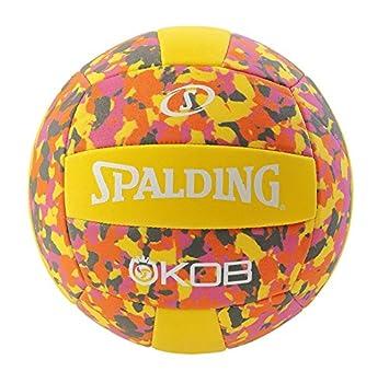 Spalding KOB 72-355Z Balón de Baloncesto, Unisex, Amarillo/Rosa, 5 ...
