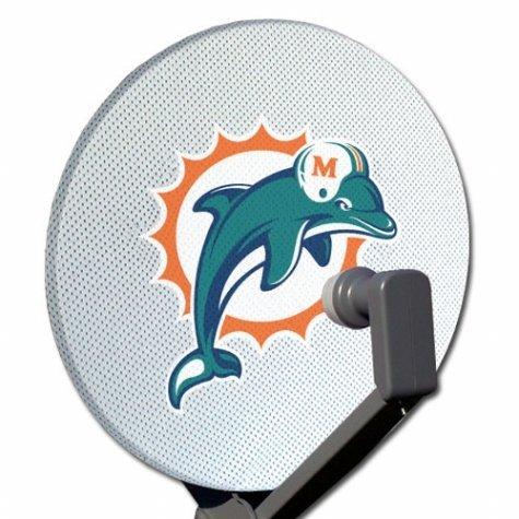 Siskiyou Miami Dolphins Satellite Dish Cover (Dish Satellite Cover)