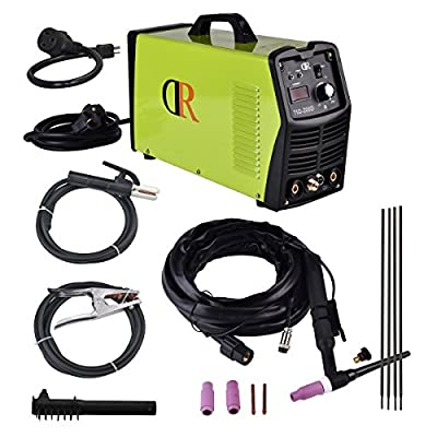 TIG 200 Amp Dual Voltage Input Multifunction Welder Arc/MMA/Stick DC MODFET Welding Soldering