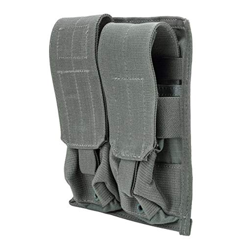BLACKHAWK! 37CL03UG Strike M4/M16 Double Mag Pouch with 4 Holds, Urban Gray