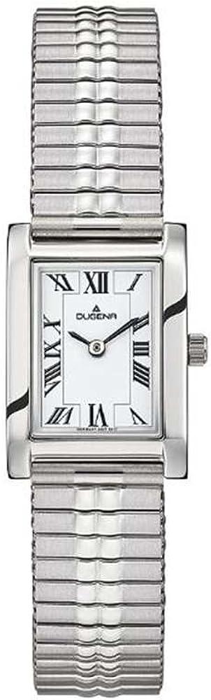 Dugena Reloj Analogico para Mujer de Cuarzo con Correa en Acero Inoxidable 4460759