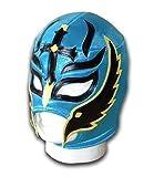 WRESTLING MASKS UK Men's Son Of Devil Mexican Wrestling Mask One Size Turquoise