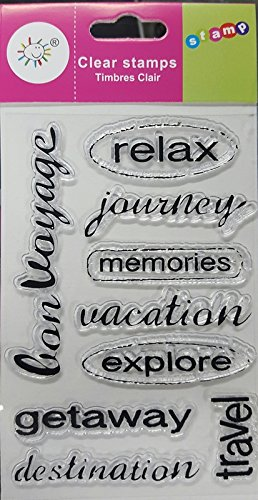 Craftdev Silicon Clear Stamp For Card Making And Scrapbooking