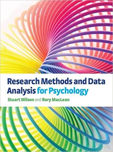 Research Methods And Data Analysis For Psychology (Delete(Uk