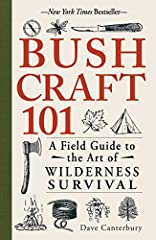 The ultimate resource for experiencing the backcountry!Written by survivalist expert Dave Canterbury, Bushcraft 101 gets you ready for your next backcountry trip with advice on making the most of your time outdoors. Based on the 5Cs of Surviv...