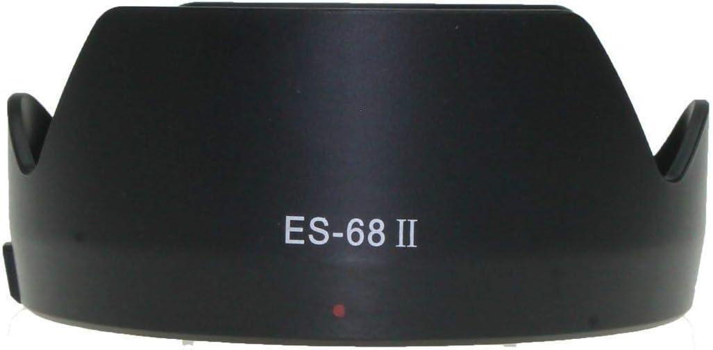 Redcolourful ES-68II Bayonet Mount Flower Lens Hood for Canon EF 50mm f//1.8 STM Lens