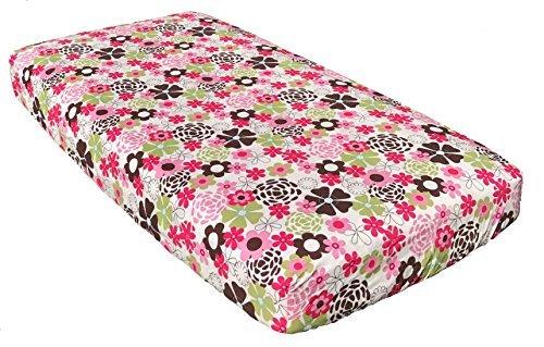 (CoCaLo Baby Taffy Baby Girl Nursery Crib Sheet)