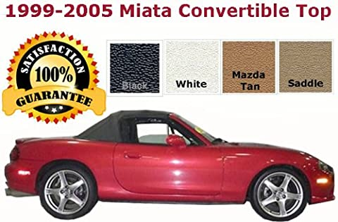 Mazda Miata Convertible Top and Heated Glass Window | PREMIUM RAINRAIL | COLOR CHOICE