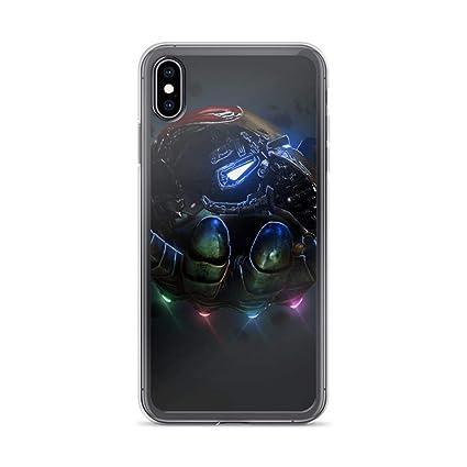 Amazon.com: iPhone X/XS Anti-Scratch Shockproof Clear Case ...