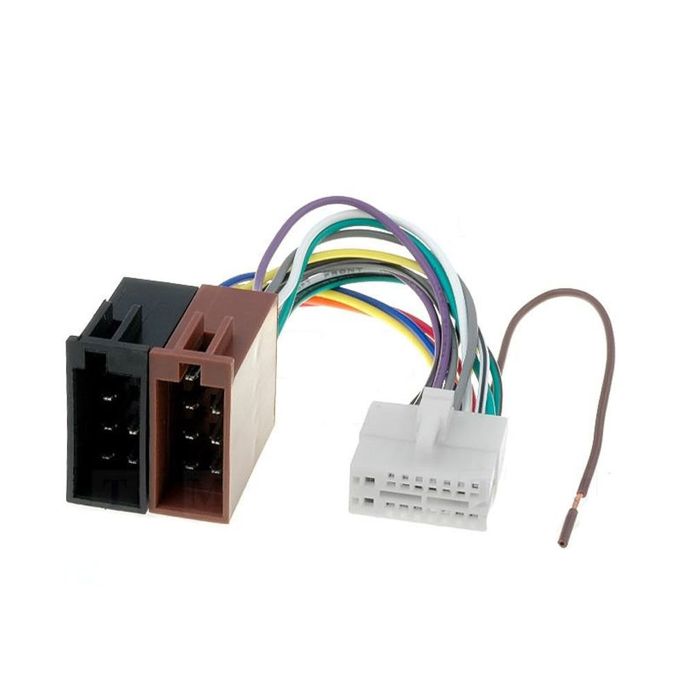 Amazon.com: Clarion 16 Pin to ISO Lead Wiring Loom Power Adaptor Wire Radio  Connector: Automotive