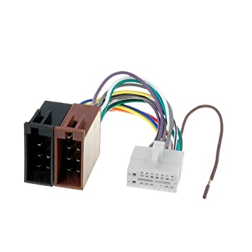 Amazon.com: Clarion 16 Pin to ISO Lead Wiring Loom Power ... on