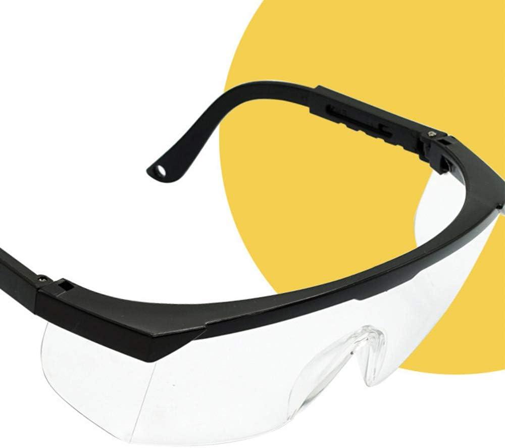 Anself Gafas de protecci/ón antisalpicaduras Gafas de protecci/ón antipolvo a prueba de polvo Gafas protectoras para los ojos