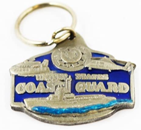 US Coast Guard Keychain Military Collectibles Patriotic Gifts Men Women Veterans