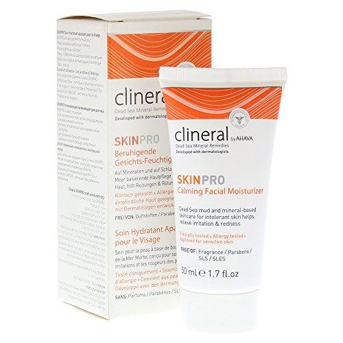 AHAVA Clineral Skinpro Calming Facial Moisturizer Cream, 0.2 fl. oz.