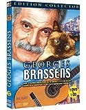 Georges Brassens (Les Images de sa vie DVD) + (CD 24 chansons, ses plus grands succès ) [+ 1 CD Audio]