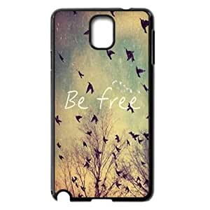 Be Free New Fashion DIY Phone Case for Samsung Galaxy Note 3 N9000,customized cover case ygtg580271