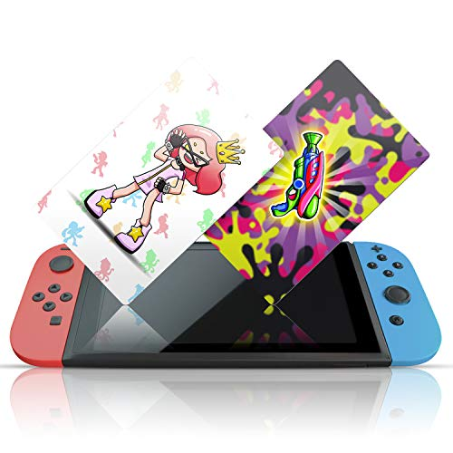 NFC Tag Game Cards for Splatoon 2 Switch Wii U - 13pcs with Cards Holder