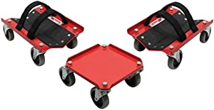 Extreme Max 5800.0228 V-Slides Snowmobile Dolly System - Steel