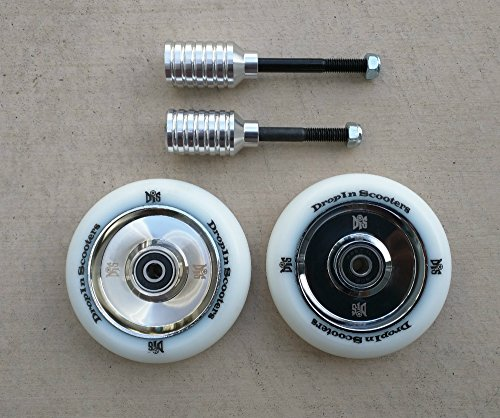 DIS 100mm Hollow Core Wheels and Pegs Package
