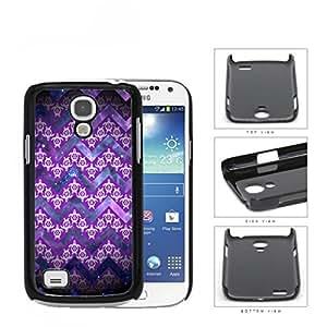 Mini Turtles In Chevron Pattern Purple Hard Plastic Snap On Cell Phone Case Samsung Galaxy S4 SIV Mini I9190