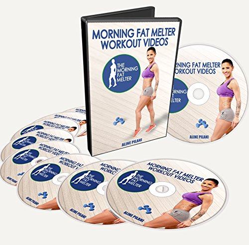 Morning Fat Melter 1st Month Workout Videos For Women on DVD - 11 Exercise Videos That Burn Fat for 48 Hours