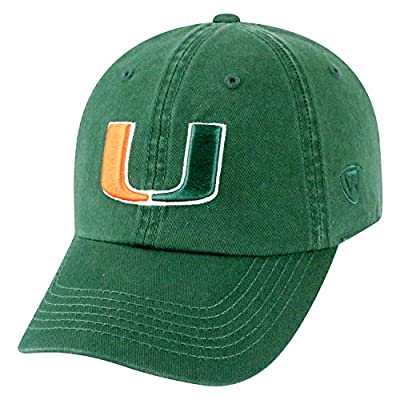 Top of the World NCAA Mens College Town Crew Adjustable Cotton Crew Hat Cap from Top of the World