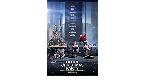Amazoncom Office Christmas Party 11x17 Inch Promo Movie Poster