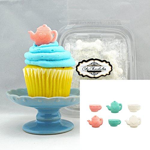 teapot cake topper - 9